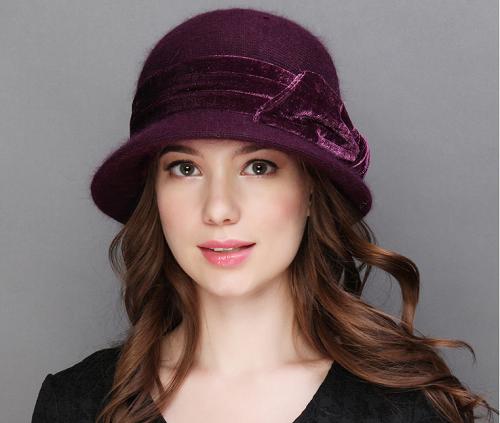 כובע צמר נשי